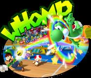Yoshi Toad Luigi and Bowser Jr Dodgeball