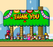 Thank You Message - Super Mario World