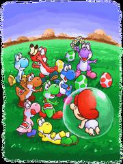 Yoshi's Island - Promotional