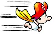 Superstar Baby Mario Artwork - Super Mario World 2