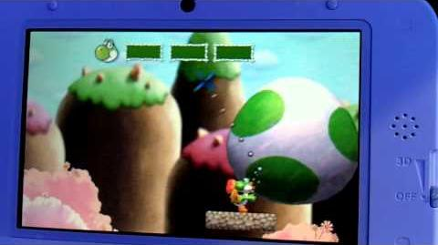 Yoshi's New Island - All 3 Levels + Boss Gameplay Footage (E3 2013)