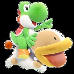 Yoshi y <a href=