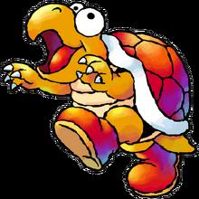 Hookbill Artwork - Super Mario World 2