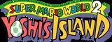 Super Mario World 2 Yoshi's Island logo