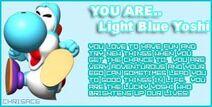 You Are Light Blue Yoshi