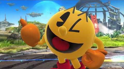 Super Smash Bros 4 - Pac-Man Announcement Trailer Wii U 3DS HD
