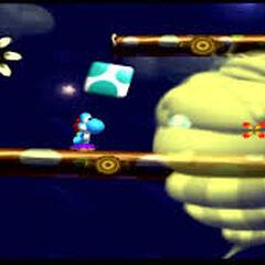 Birdo y Yoshi en mario kart double dash
