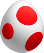 Red spotted eggs are great