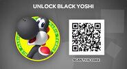 PANEL BLACK-YOSHI-QR