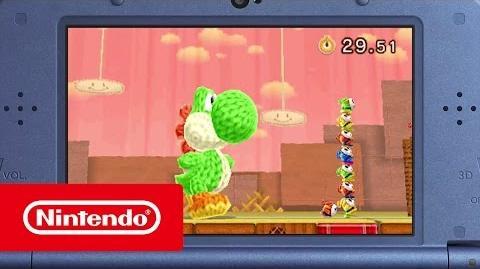 Poochy & Yoshi's Woolly World – Tráiler revelación (Nintendo 3DS)