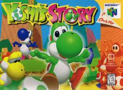 Yoshi's Story Boxart Américano