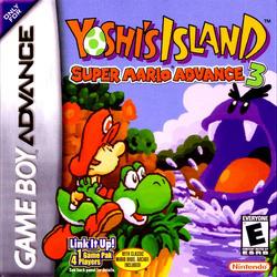Yoshi's Island - Super Mario Advance 3 Boxart