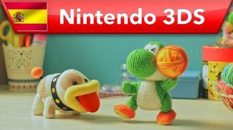 Poochy & Yoshi's Woolly World - ¡Cógelo, Poochy! (Nintendo 3DS)