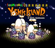 Title Screen - Nighttime - Super Mario World 2