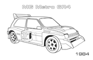 Metro 6r4 coloring page