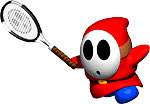 Red Shyguy in more tennis