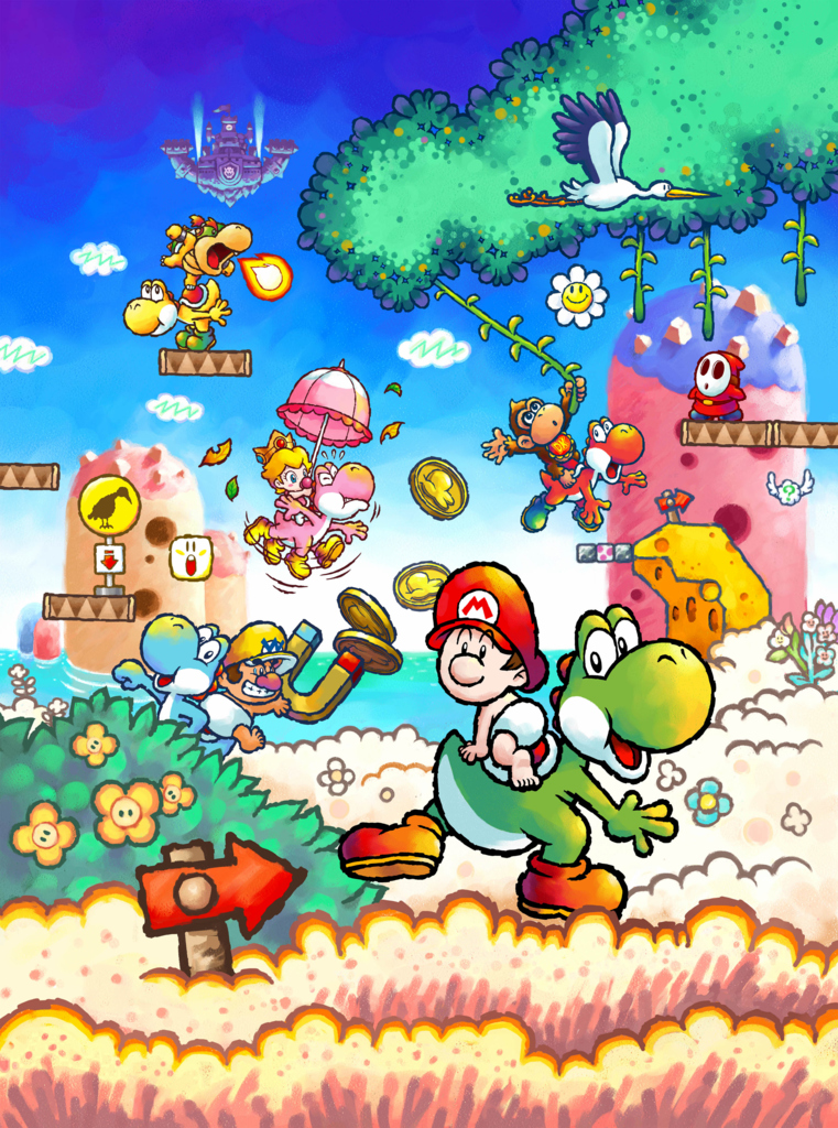Yoshi S Island Ds Wiki Yoshi Fandom Powered By Wikia