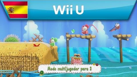 Yoshi's Woolly World - Modo multijugador (Wii U)