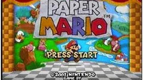 Paper Mario- Monty Mole Attack!