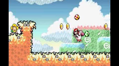 Yoshi's Island Egg Juggling