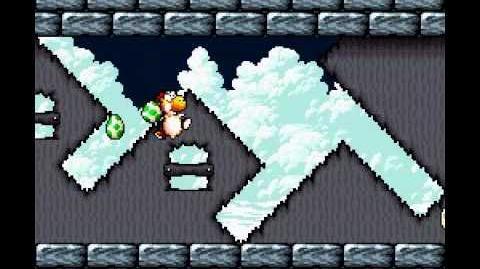 Yoshi's Island - Killing Sluggy with only 4 eggs-1