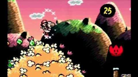 Yoshi's Island Speed Run 1-6 100%