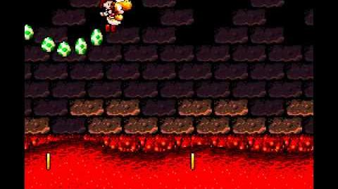 Yoshi's Island Sustained Fluttering