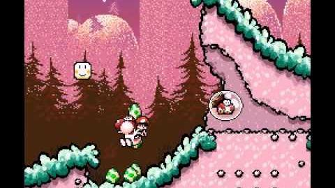 Glitched Baby Mario (Yoshi's Island SNES)
