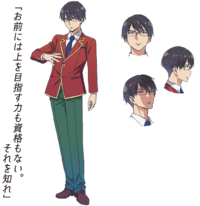 Manabu Horikita Anime Appearance
