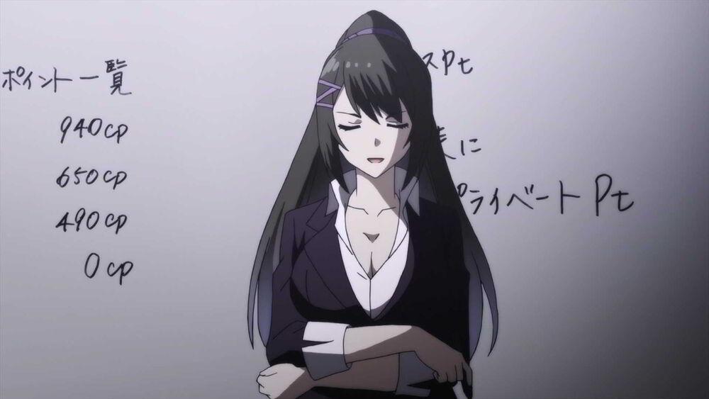 Nhân vật Sae Chabashira - Classroom of the Elite