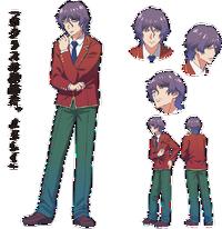 Aparência no Anime de Ryūji Kanzaki
