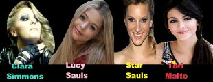 Clara simmons lucy sauls star sauls tori malto