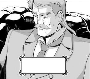 Donald Habergram in manga ch. 22