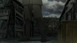 7.58 cm Minenwerfer in episode 9