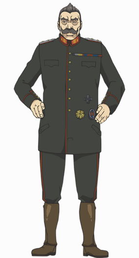 Kurt Anime Full Body