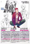 Sudō, Ike, Yamauchi Character Profiles