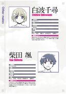 Shiranami, Shibata Character Profiles
