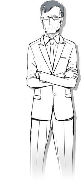Kazuma Sakagami LN 2nd Year Arc visual