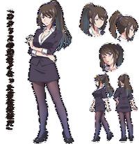 Sae Chabashira Anime Apariencia