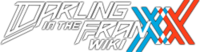Wiki Darling in the FRANXX wordmark