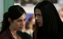 Miss McCauley and Count Dracula