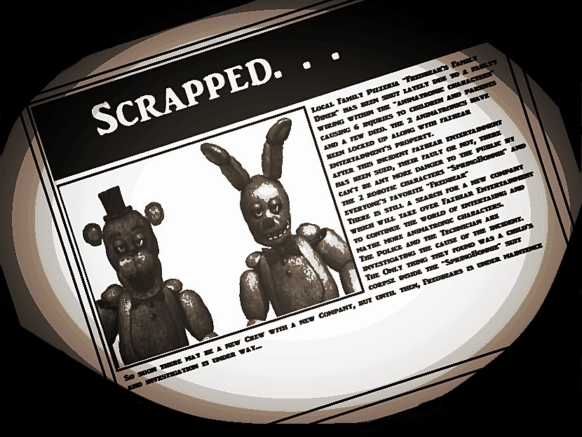 young springtrap young five nights at freddy s wikia fandom