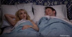 Gabi and Josh in Bed (4x09)