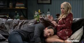 Josh Passed Out on Gabi