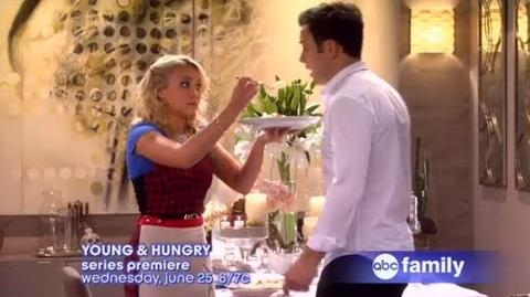 YOUNG & HUNGRY Series Premiere Wednesday, June 25 at 8 7c Official Preview