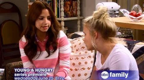 Young and Hungry Season 1 Episode 1 Promo 1x01 Promo Pilot - Young and Hungry 1x01 Promo-0