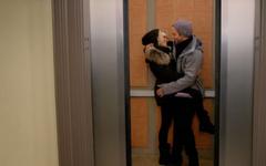 Jabi in the Elevator (5x11)