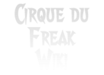 Cirque Du Freak Wordmark