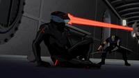 Sportsmaster versus Black Manta