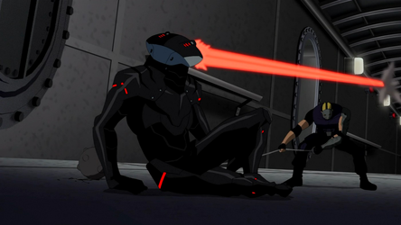 File:Sportsmaster versus Black Manta.png